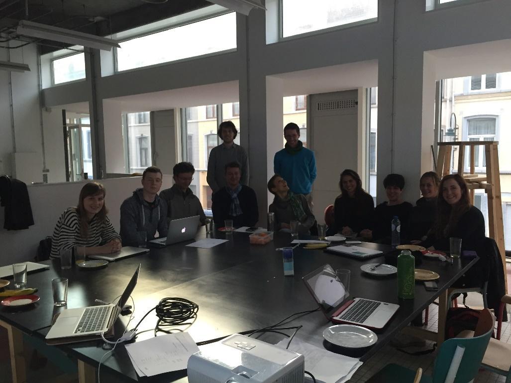 SavingFood Workshop in Belgium