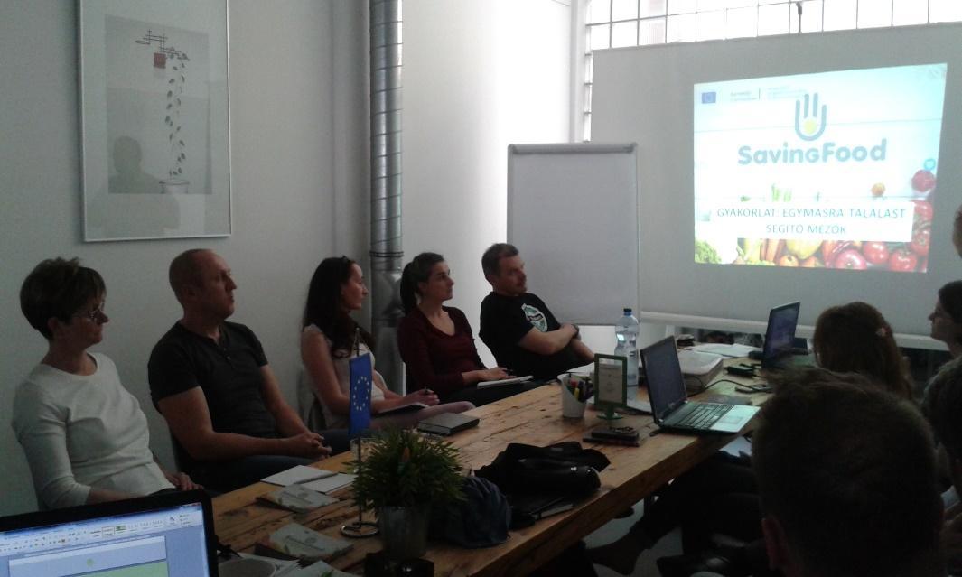 SavingFood Workshop in Hungary